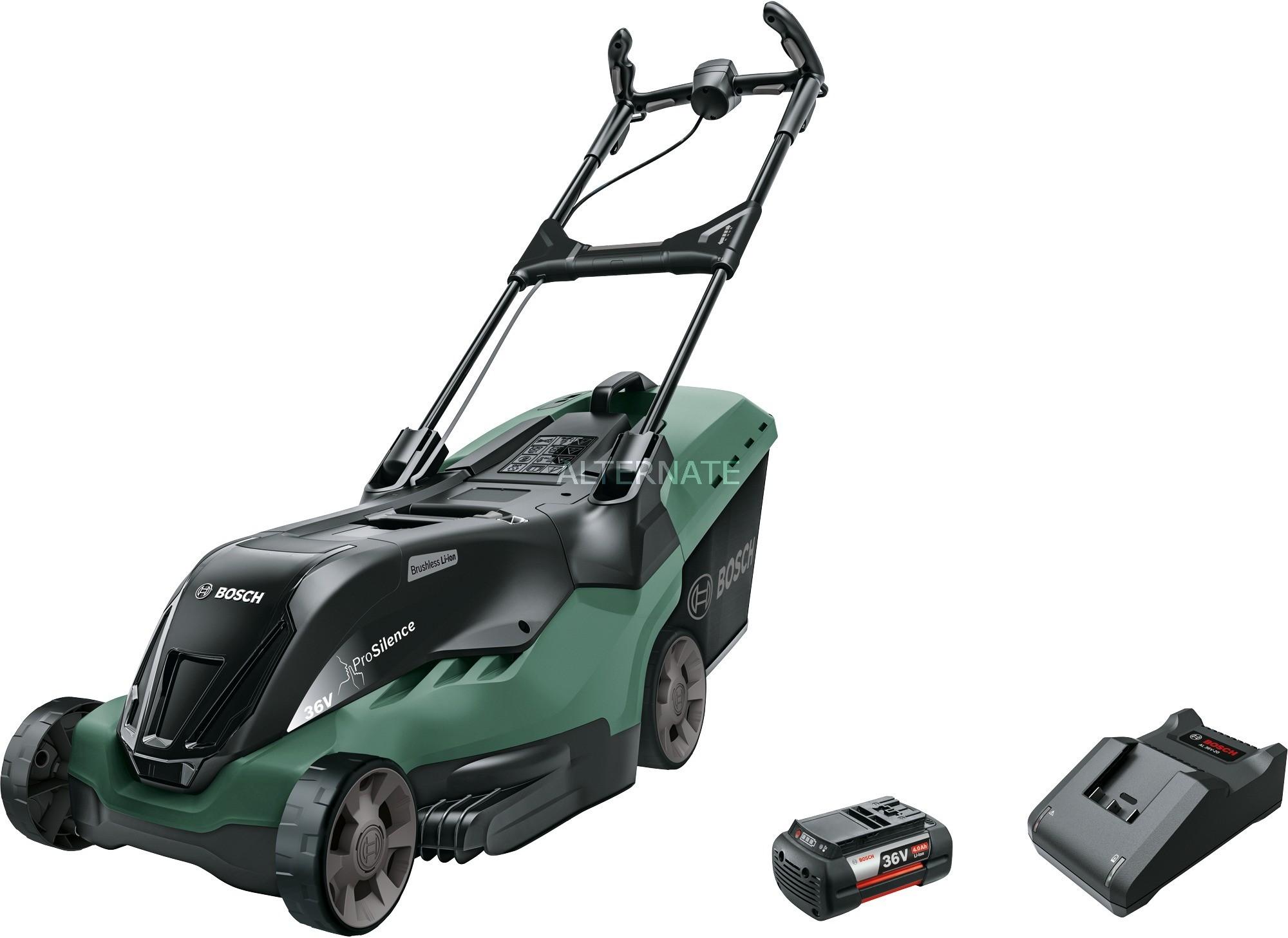 Bosch AdvancedRotak 36-750 Czarny, Zielony Bateria, kosiarka do trawy