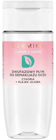 Dermika Clean & More dwufazowy płyn do demakijażu oczu Cykoria & Olejek Jojoba 125ml