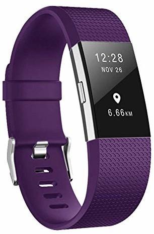 fitbit AOCGO Zapasowe paski do zegarka na rękę Charge 2, zamienny pasek do miękkich akcesoriów, Charge 2 (5,5 6,7