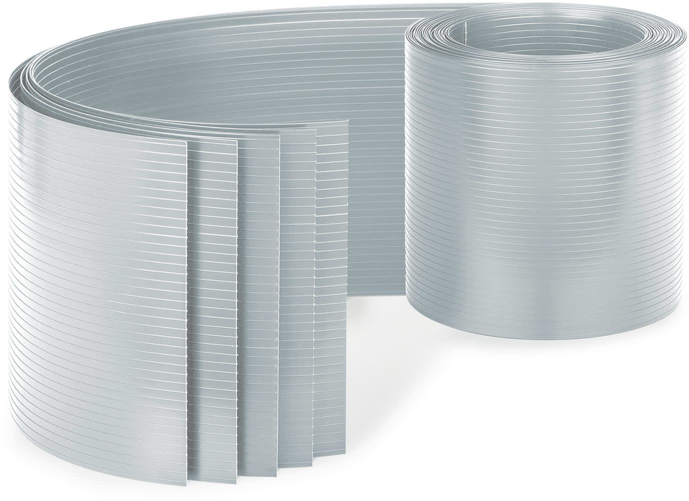 Blumfeldt Blumfeldt Ogrodzeniowa osłona maskująca, PCW  twardy plastik, 2,53 x 0,19 m PVC5 Grau