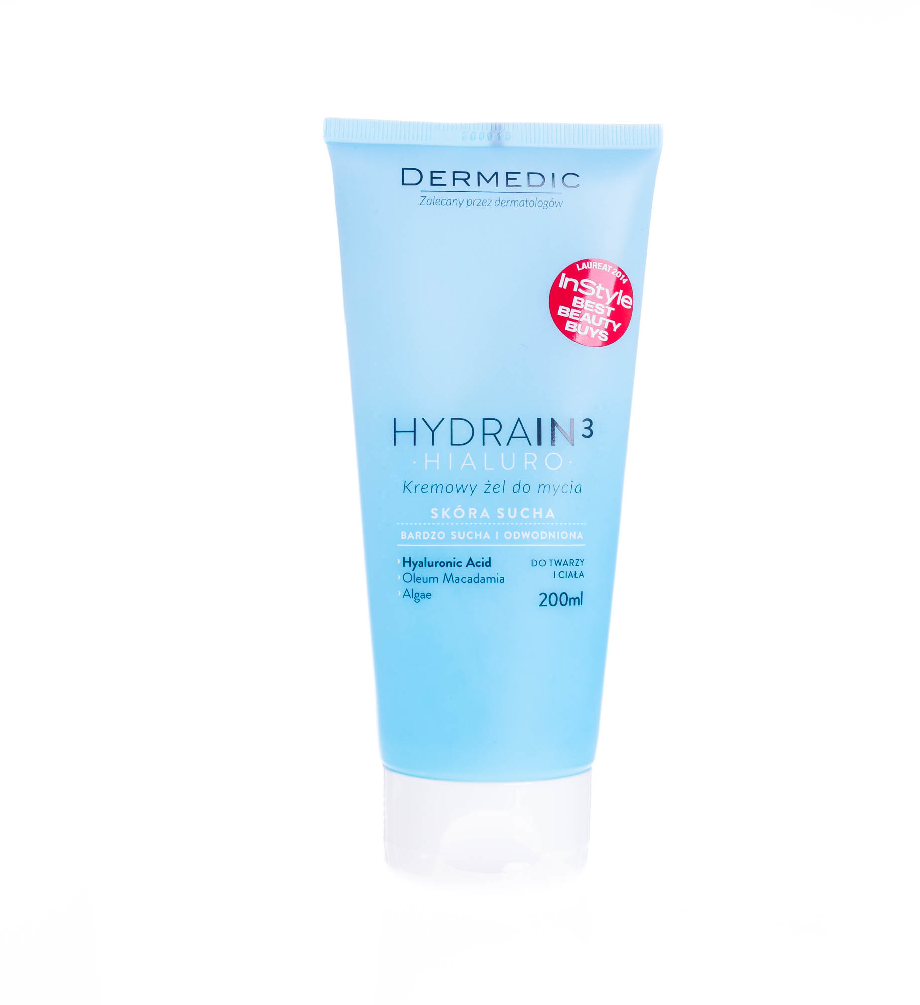 top Dermedic HYDRAIN 3 HIALURO kremowy żel do mycia 200ml