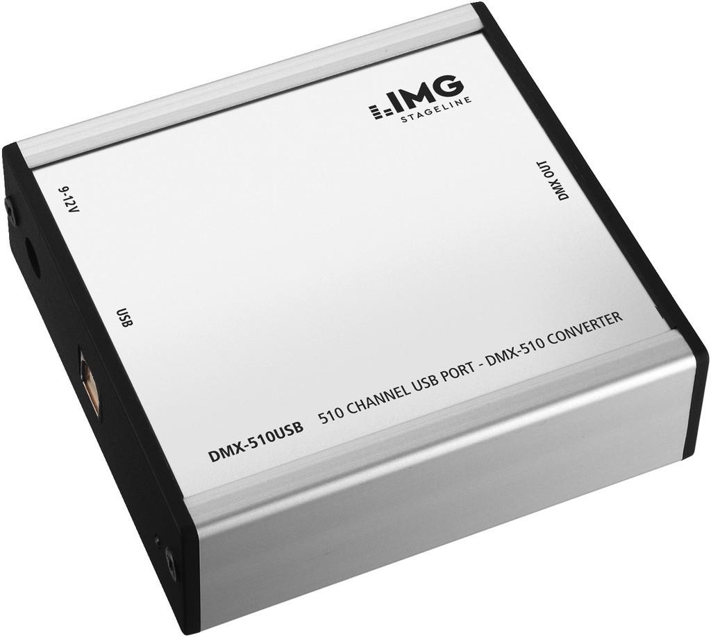 IMG IMG STAGELINE DMX-510USB Kontroler DMX 55361