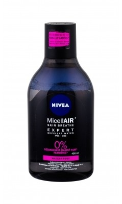 Nivea MicellAIR Expert Waterproof płyn micelarny 400 ml dla kobiet