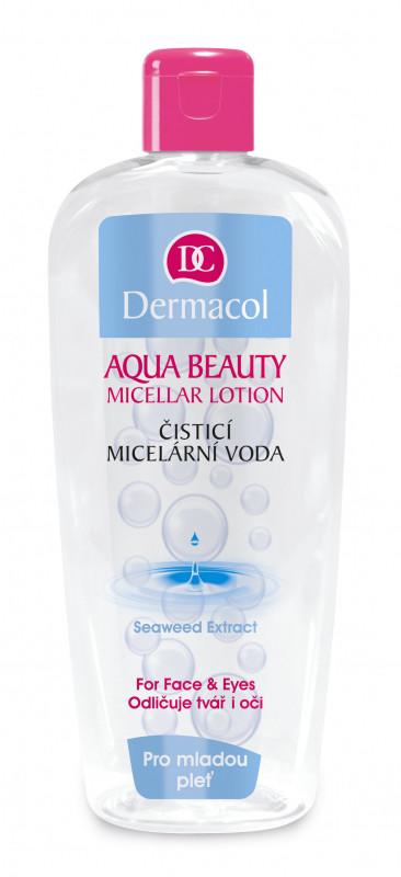 Dermacol AQUA BEAUTY - MECELLAR LOTION - Płyn micelarny z ekstraktem z wodorostów - 400ml DEREW40