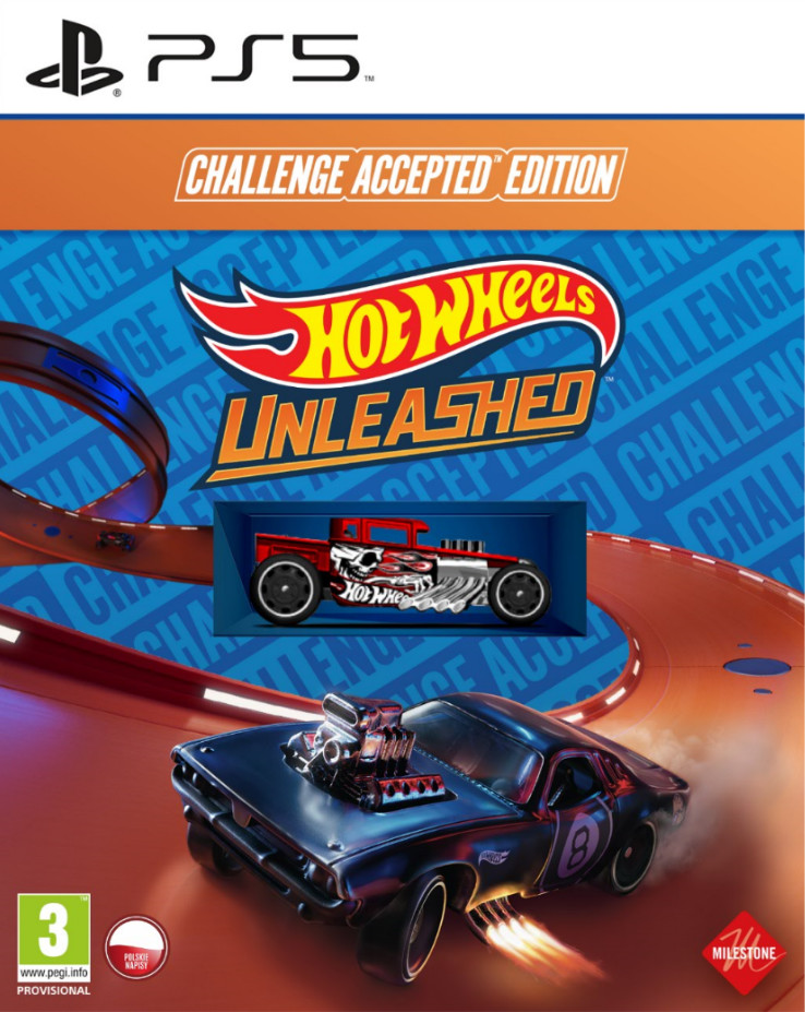 Hot Wheels Unleashed Challenge Accepted Edition (GRA PS5)