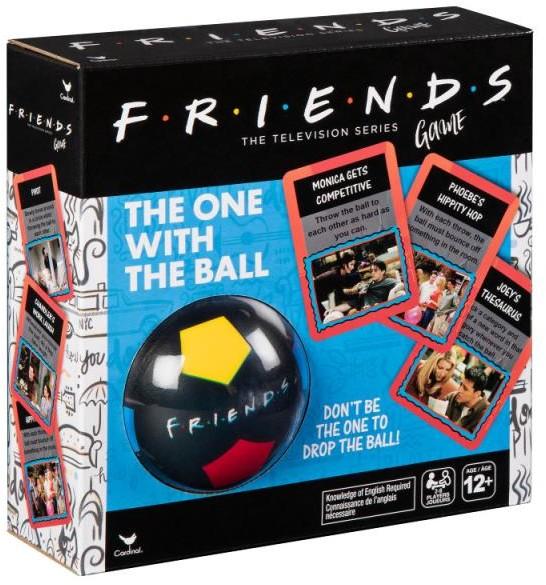 Spin Master Ten z piłką Friends Przyjaciele