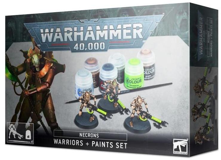 Games Workshop Necrons Warriors + Paints Set (99170110004) 60-69