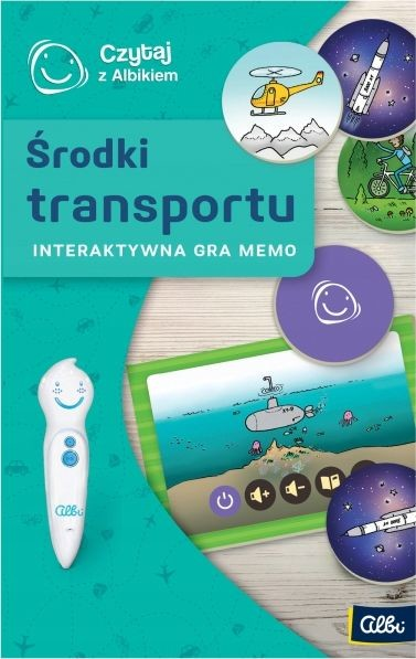 Albi Czytaj z Albikiem mówiąca gra Memo Transport 8052025