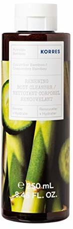 Korres Cucumber Bamboo rewitalizujący żel pod prysznic, 250 ml 21007282