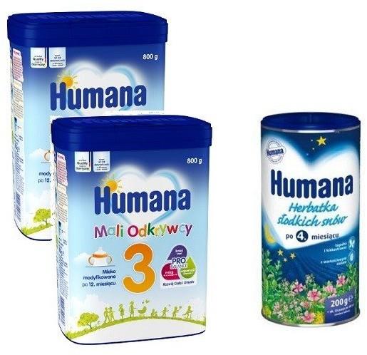 Humana 2x 3 800 g