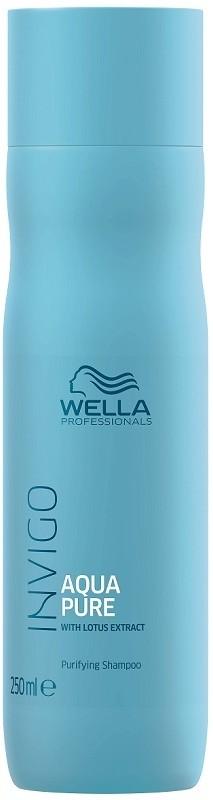 Wella INVIGO Aqua Pure szampon oczyszczający włosy z resztek produktów do stylizacji 250ml 13382