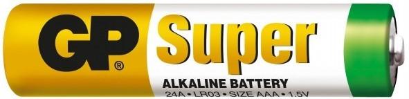 GP Baterie alkaiczne GP Super LR03 AAA