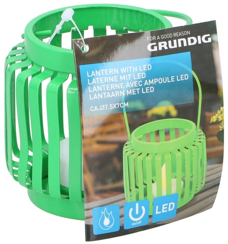 Grundig Grundig - LED Latarnia LED/1xCR2032 zielony