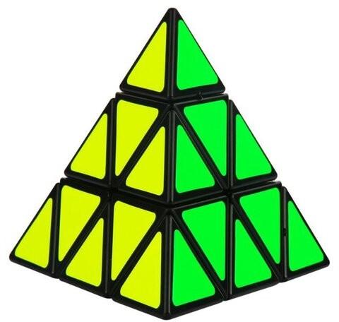 Kostka Łamigłówka gra logiczna Pyraminx 8,5 cm x 9,5 cm KX7599
