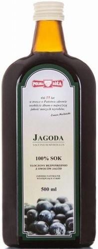 Polska Róża 137Polska Róża Sok z Owoców Jagody 500ml - PLRSOKJAGO500