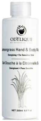 Essential Care Odylique Odylique by organiczny nawilżający kremowy żel do mycia ciała z aloesem, oliwą Trawa Cytrynowa 200ml