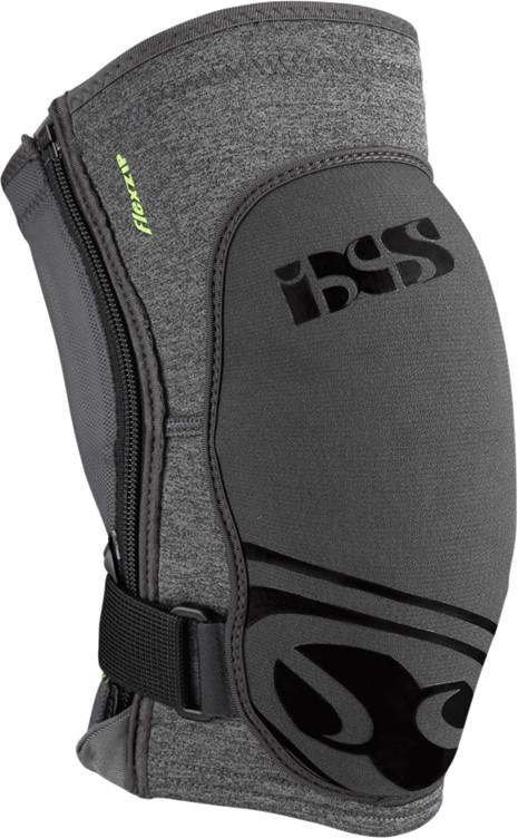 IXS Ochraniacze na kolana  Flow Zip szary / Rozmiar: L 482-510-6617-009-L