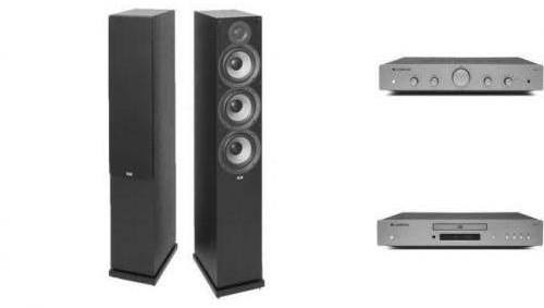 Cambridge Audio AXA25 + AXC35 + ELAC DEBUT F6.2