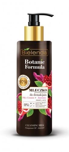 Bielenda KOSMETYKI NATURALNE Botanic mleczko do demakijażu olej z granatu+amarantus 200ml