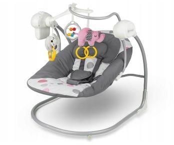 KinderKraft Bujaczek Elektryczny Leżaczek Minky