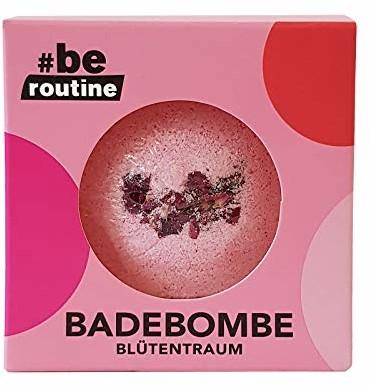 #be routine Kula kąpielowa kwiatowy marzenie, 165 g