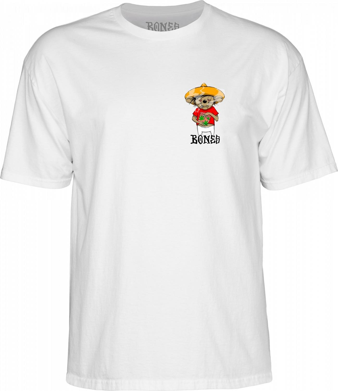 BONES t-shirt BONES WEEDY White