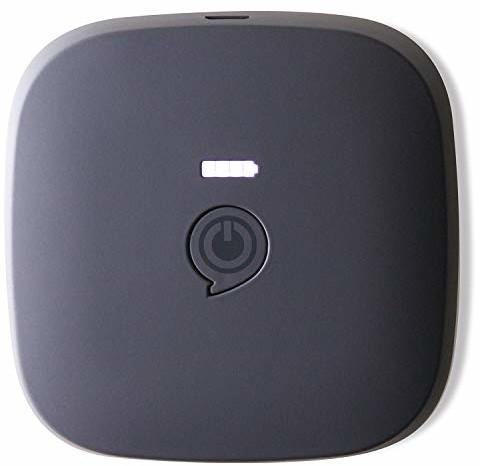 Zens Portable Power Pack 3000mAh Czarny (ZEPP01B/00)