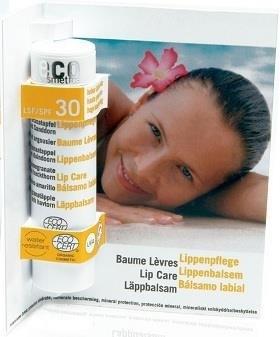 Eco Cosmetics Balsam do ust LSF/SPF 30 z owocem granatu i rokitnikiem GreenLine-1141-uniw