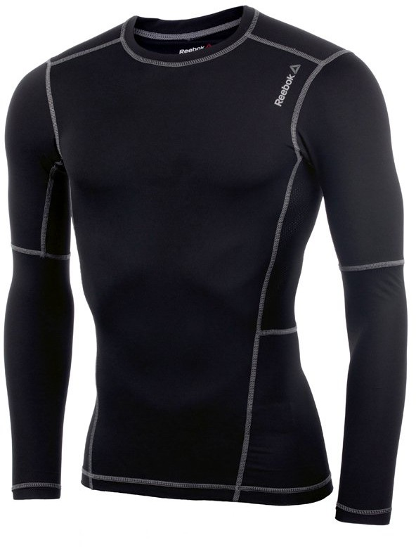 Reebok koszulka kompresyjna męska REEBOK WORKOUT READY COMPRESSION LONG SLEEVE / AO0611 FUR-243/S