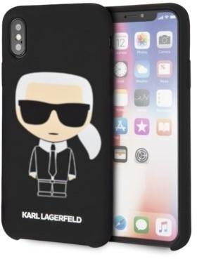 Karl Lagerfeld Case hardcase iPhone Xs Max KLHCI65SLFKBK czarny + EKSPRESOWA KLHCI65SLFKBK