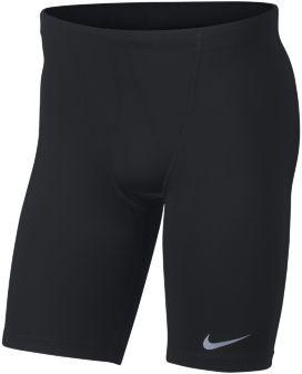 Nike Męskie krótkie legginsy do biegania Czerń 893052-010