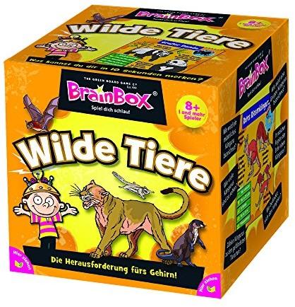 Unbekannt Znane BrainBox 94902zabawędzikie zwierzęta, zmieni Twoje życie mądrypocząwszy od 1graczy do gier, czas około 10minut