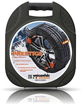 Weissenfels NM44020STD002 M44 Prestige 2 Clack&Go, łańcuchy śniegowe na koła samochodowe, 1 para
