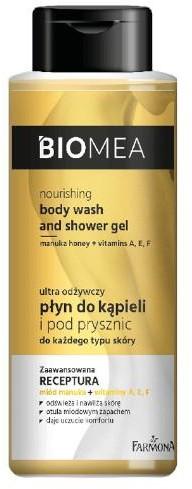 Farmona Farmona Biomea odżywczy płyn do kąpieli i pod prysznic 500 ml 1142434