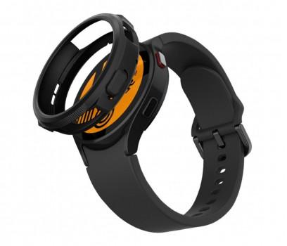 Spigen Liquid Air do Galaxy Watch 4 czarny