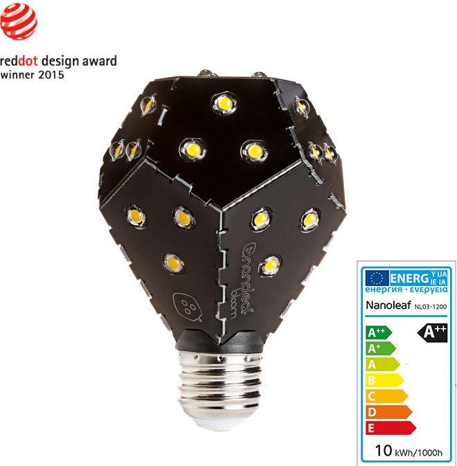 Nanoleaf Żarówka LED E27 1200 lm 10W NL03-1200BN240E27