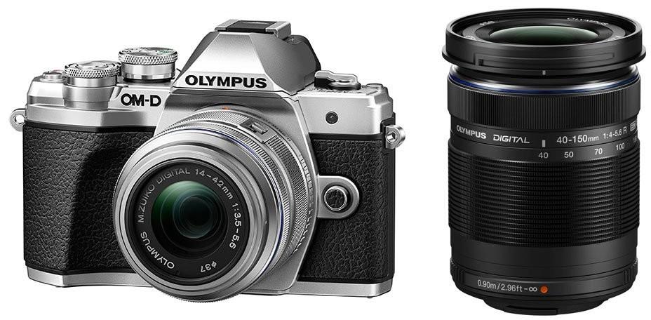 Opinie o Olympus OM-D E-M10 Mark III srebrny + 14-42 mm II R + 40-150 mm R
