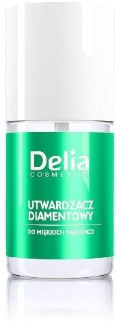 Delia Cosmetics Cosmetics, utwardzacz diamentowy do miękkich paznokci, 11 ml