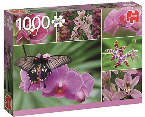 Jumbo gry 18354 orchidei 1000 sprawia, że podzespoły