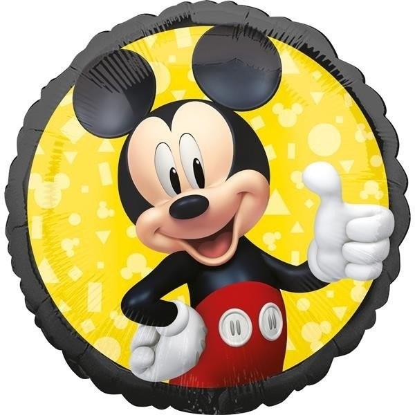 Amscan Balon foliowy, Myszka Mickey, 43 cm, 1 sztuka