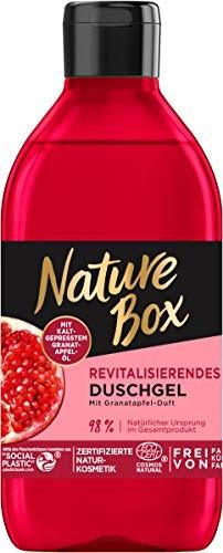 Nature Box rewitalizujący żel pod prysznic o zapachu granatu, 250 ml
