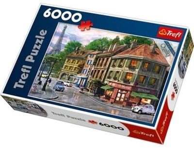 Trefl Puzzle 65001 Uliczka Paryża 6000 elementów)