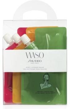 Shiseido Waso Reset Cleanser Squad zestaw kosmetyków IV do doskonałego oczyszczania skóry