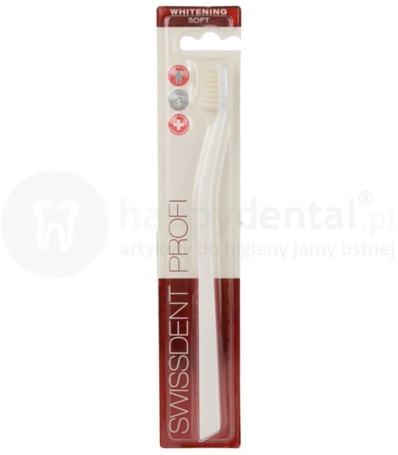 Swissdent Cosmetics Whitening Soft wybielająca szczoteczka do zębów