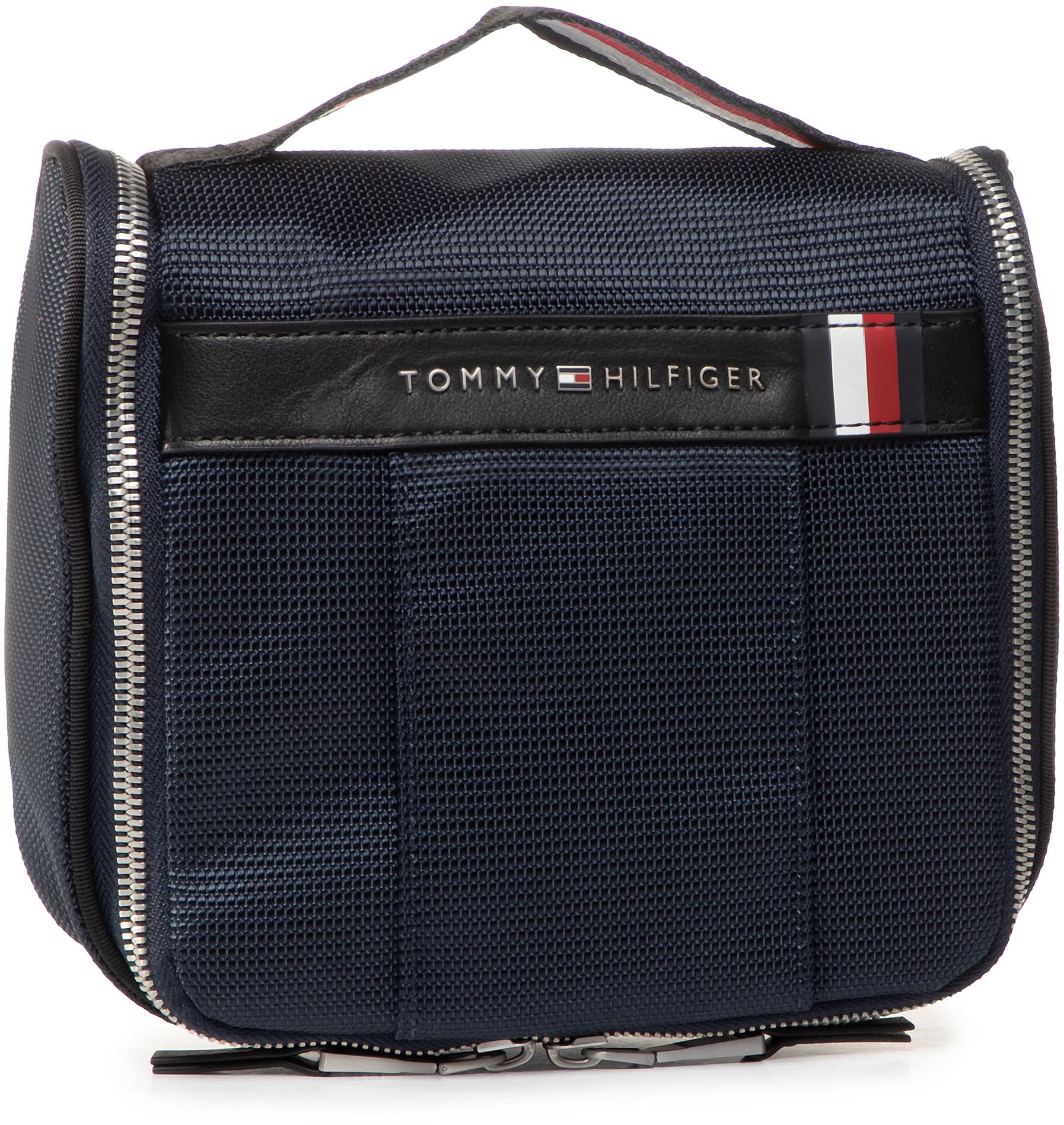 TOMMY HILFIGER Kosmetyczka Elevated Nylon Hanging Washbag AM0AM05852 CJM