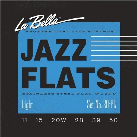 LaBella 20-PL Jazz Flats 11-50