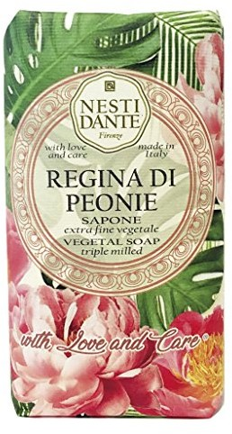 NESTI DANTE Florence Italy: with Love and Care Regina di peonie mydła (250 G) ND1352106