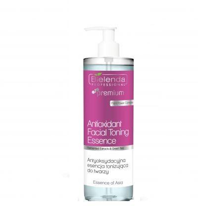Bielenda Bielenda Professional Essence of Asia Antioxidant Facial Toning Essence  500ml antyoksydacyjna esencja tonizująca do twarzy