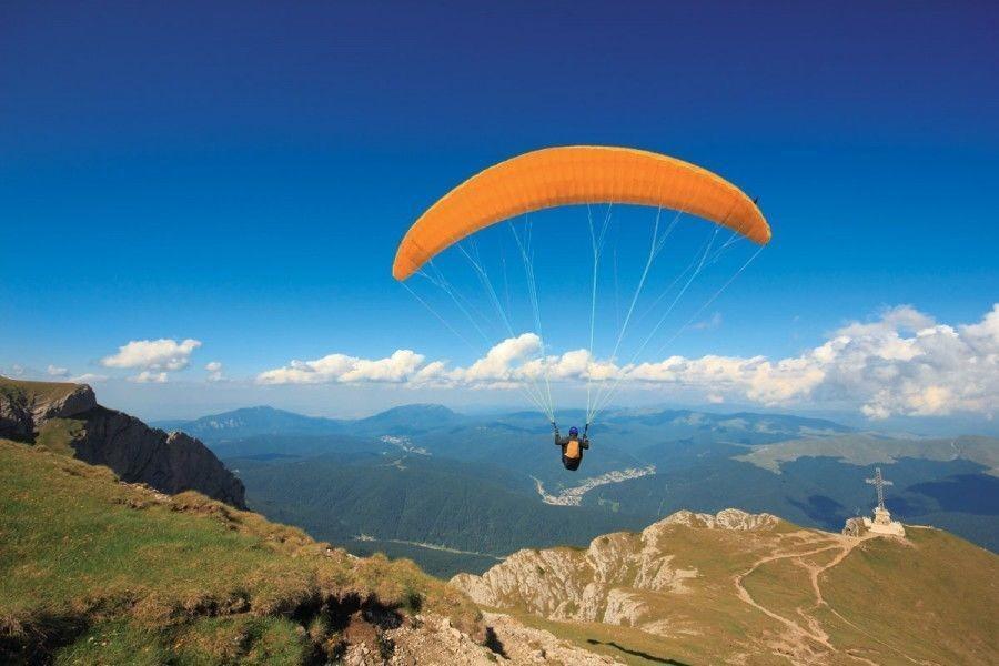 Lot paralotnią z wideofilmowaniem dla Dwojga Zielona Góra motoparalotnia LMPDDZGF