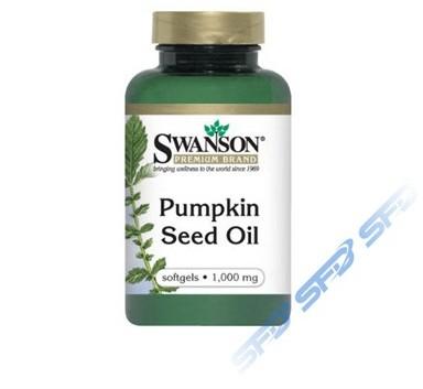Swanson Olej z pestek dyni  (Pumpkin Seed Oil) 100kap.